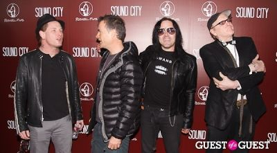 corey taylor in Sound City Los Angeles Premiere