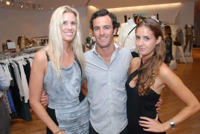 rowlanda stephanos in Amaryllis Equine Rescue Benefit at Intermix