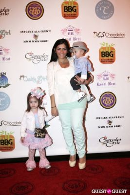 royal brat in Cupcakes That Care Red Carpet Family Event