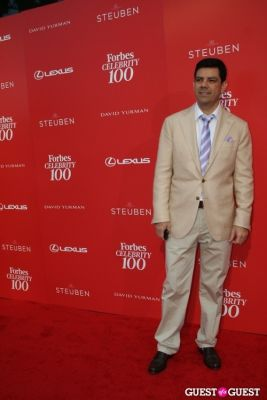 ruben sánchez-luzarraga in Forbes Celeb 100 event: The Entrepreneur Behind the Icon