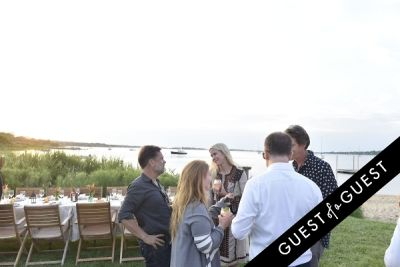 elizabeth cutler in Cointreau & Guest of A Guest Host A Summer Soiree At The Crows Nest in Montauk