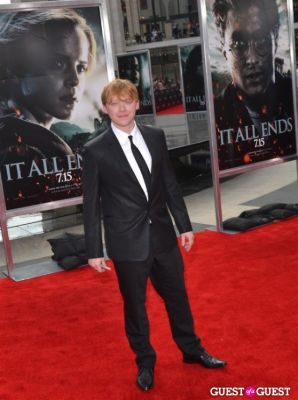 rupert grint in Harry Potter And The Deathly Hallows Part 2 New York Premiere