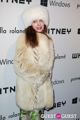 ruth rose in Whitney Museum of American Art's 2012 Studio Party
