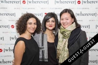 ruwayna ghanem in Wherever Magazine Launch