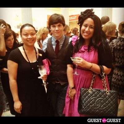 ryan charchian in Isabel Toledo Book Signing at the Corcoran