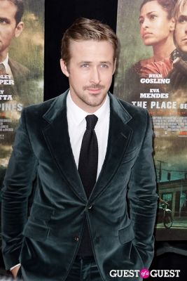 ryan gosling in The Place Beyond The Pines NYC Premiere