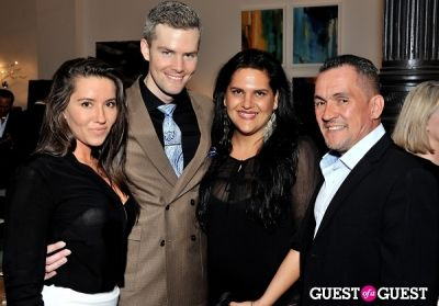 ryan serhant in Luxury Listings NYC launch party at Tui Lifestyle Showroom