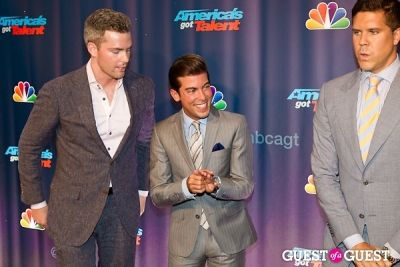 ryan serhant in America's Got Talent Live at Radio City