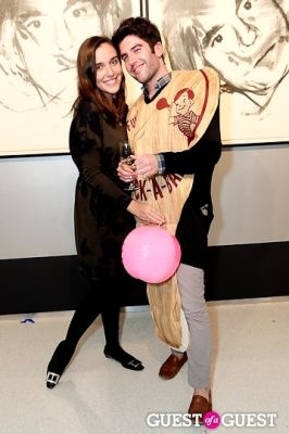 saara pritchard in Warhol Halloween Party at Christies