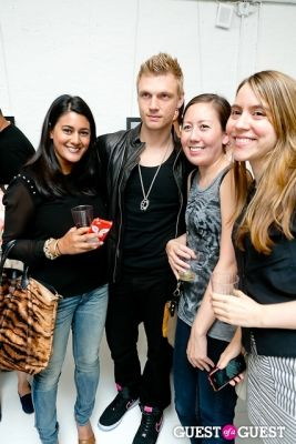emily hebert in Tyler Shields and The Backstreet Boys present In A World Like This Opening Exhibition