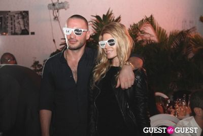 maryna linchuk in Baoli-Vita Presents Gareth Pugh Dinner at Art Basel Miami