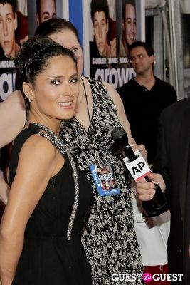 salma hayek in Grown Ups 2 premiere