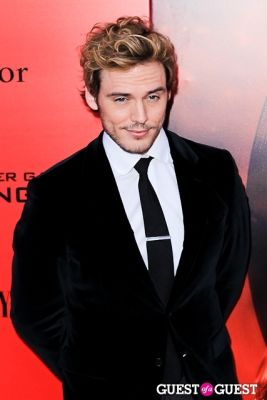 sam claflin in The Hunger Games: Catching Fire