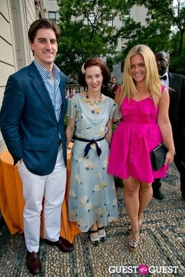sam dangremond in The Frick Collection Garden Party