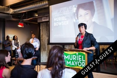 sam sanders in DC Tech Meets Muriel Bowser