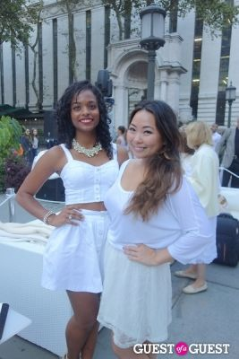 samantha chin in Diner en Blanc NYC 2013
