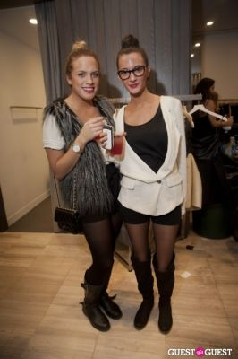samantha defalco in Denim Habit Boutique DL 1961 Party