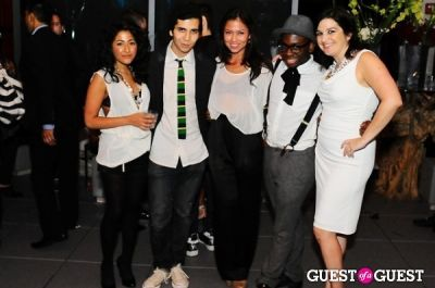 mcarthur joseph in The King Collective and ModelKarma present The End Of NYFW - White Party