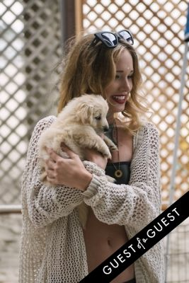 samantha tressler in Puppies & Parties Presents Malibu Beach Puppy Party