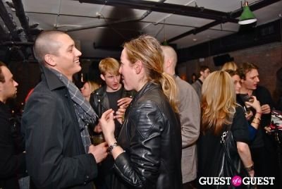 samuel farrier in 24th Letter Launch Party