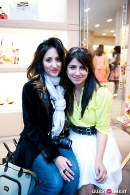 mahvash taqi-ghosh in Spring Charity Shopping Event at Nival Salon and Jimmy Choo