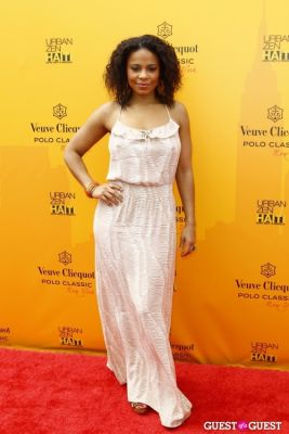 sanaa lathan in Veuve Clicquot Polo Classic at New York