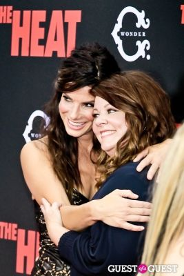 megan mccarthy in The Heat Premiere