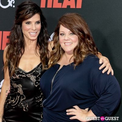 sandra bullock in The Heat Premiere