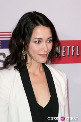 sandrine holt in Netflix Presents the House of Cards NYC Premiere
