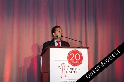 sandy santana in Children's Rights Tenth Annual Benefit Honors Board Chair Alan C. Myers