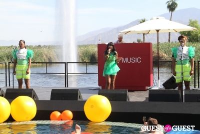 santigold in H&M Loves Music Coachella Event 2013
