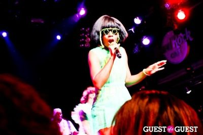 santigold in Rolling Stone Private Concert Series Ft. Santigold and Karmin