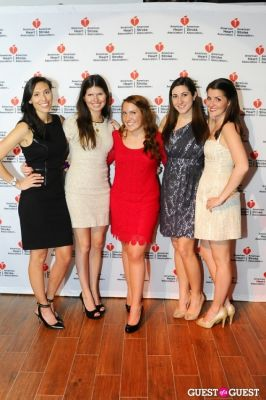 sara bloom in American Heart Association Young Professionals 2013 Red Ball