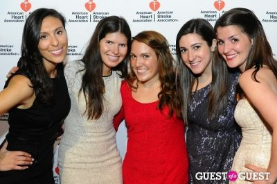 laura gonzalez in American Heart Association Young Professionals 2013 Red Ball