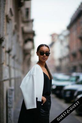 sara hadgu in Milan Fashion Week PT 2