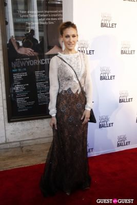 sara jessica-parker in New York City Ballet Spring Gala 2011
