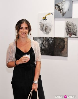 sara lieberman in Ronald Ventura: A Thousand Islands opening at Tyler Rollins Gallery