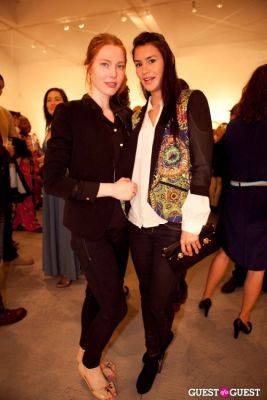 sarah alena in Martin Schoeller Identical: Portraits of Twins Opening Reception at Ace Gallery Beverly Hills