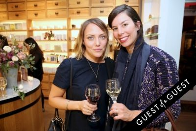 sarah appleby in Caudalie Premier Cru Evening with EyeSwoon