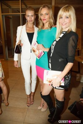sarah deanna in Voli Light Vodkas and Sarah DeAnna Host SUPERMODEL YOU Book Launch at Equinox Fitness