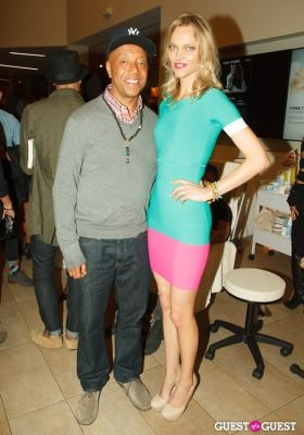 russell simmons in Voli Light Vodkas and Sarah DeAnna Host SUPERMODEL YOU Book Launch at Equinox Fitness
