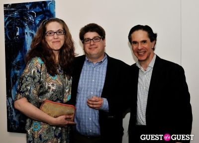 eric greenberger in Conor Mccreedy - African Ocean exhibition opening
