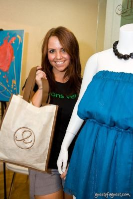 sarah flemming in The Green Room NYC Trunk Show