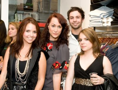 amanda parenti in cmarchuska spring/summer 2009 collection trunk show hosted by Kaight and Entertainment Sixty 6