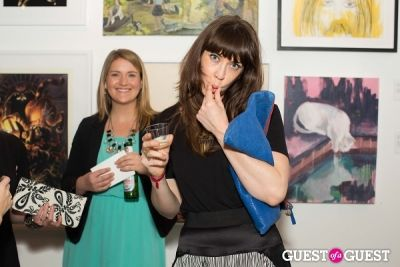 sarah gurbach in Cat Art Show Los Angeles Opening Night Party at 101/Exhibit