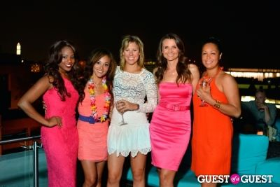 eve monica in Sip With Socialites July Luau Happy Hour
