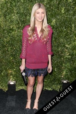 sarah hoover in Chanel's Tribeca Film Festival Artists Dinner