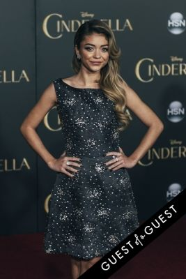 sarah hyland in Premiere of Disney's