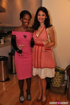 sarah kunst in Mad Men Theme Party