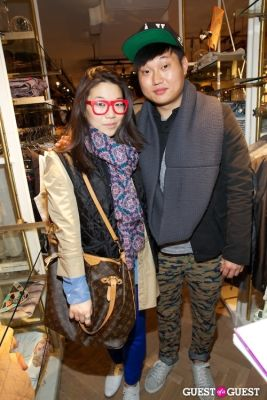 sarah lee in Scotch & Soda Launch Party